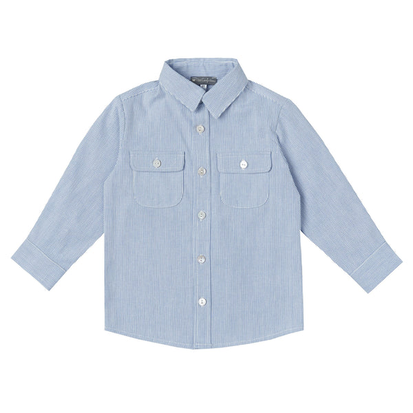 Denim Long-Sleeve Shirt