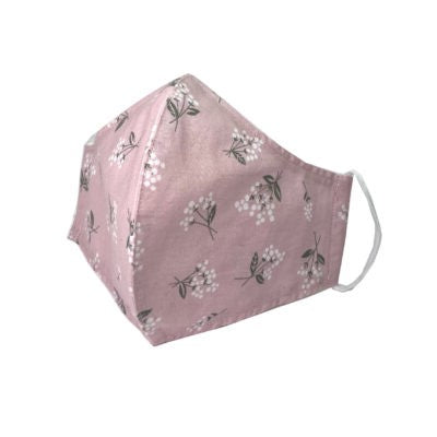 Pink Floral Protective Mask