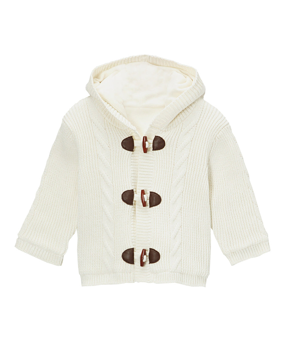 Toggle Button Knit Coat