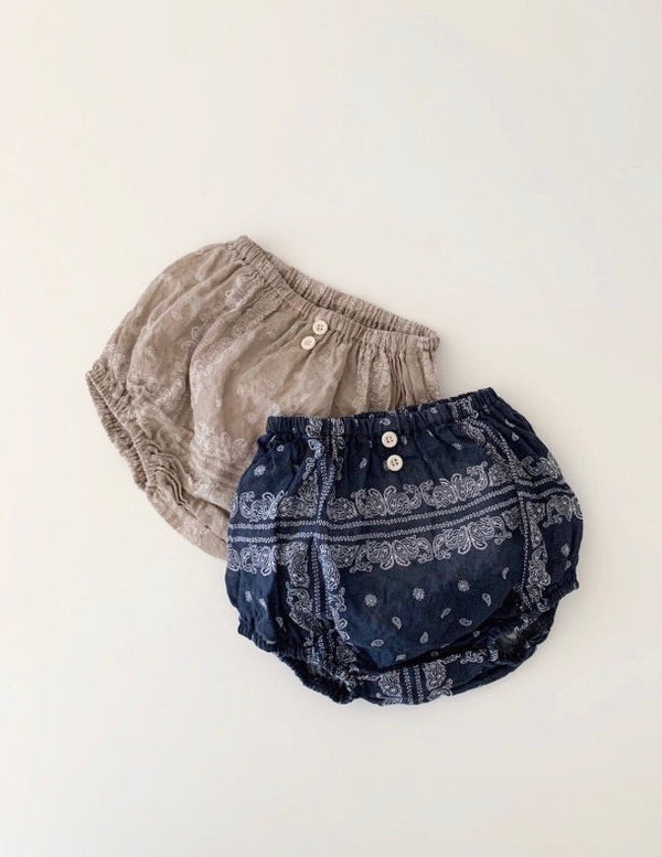 Paisley Bloomers Set
