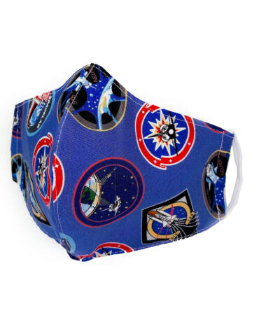 Space Print Protective Mask