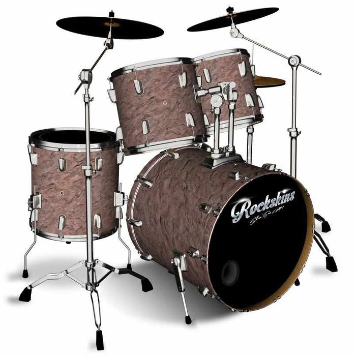 Petrified Red Rock Drum Wrap