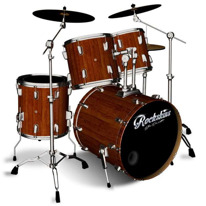 Dark Wood Drum Wrap