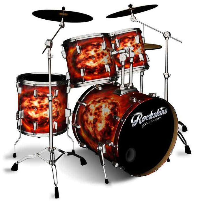 Great Balls Of Fire Drum Wrap