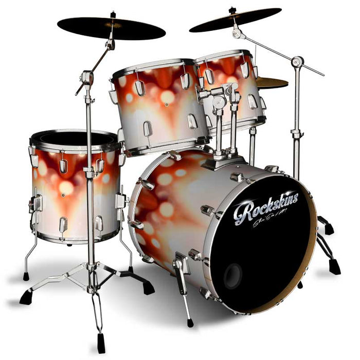 Blurred Sparks Drum Wrap