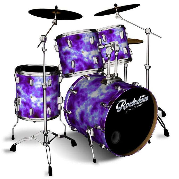 Purple Brain Cell Drum Wrap