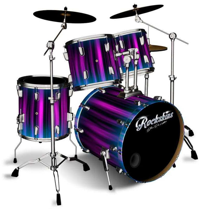 Purple Funk Drum Wrap