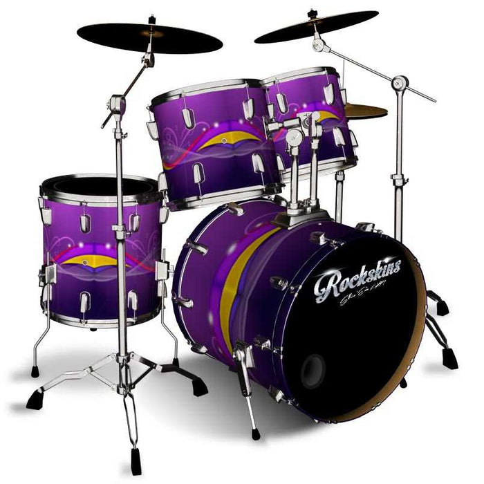 Funky Purple Drum Wrap
