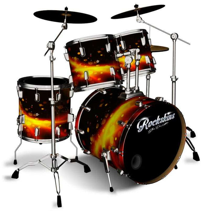 Galaxian Rock Drum Wrap
