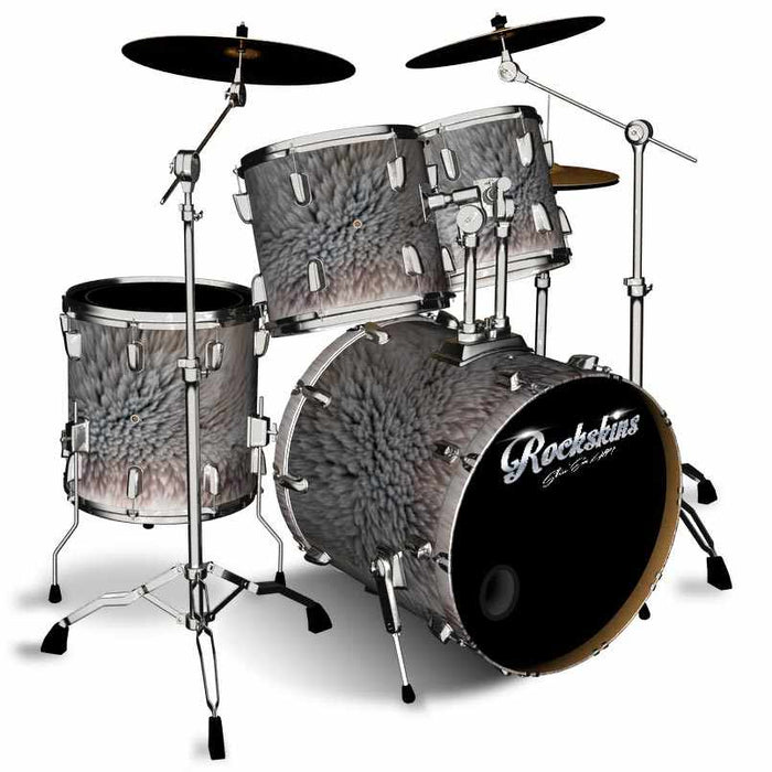 Polar Bear Fur Drum Wrap
