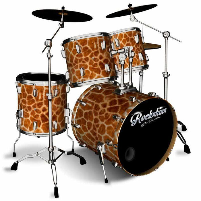 Giraffe Fur Drum Wrap