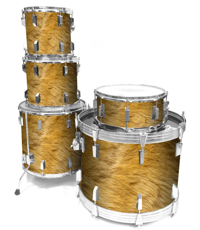 Fox Fur Drum Wrap