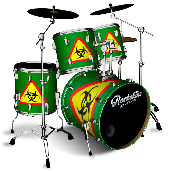 Bio-hazard Drum Wrap
