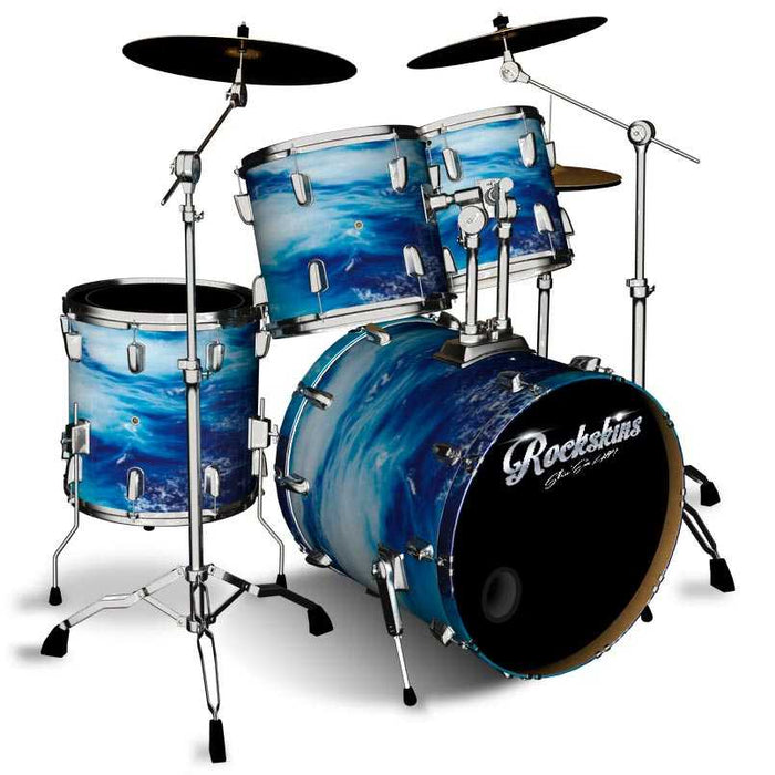 Deep Water Frenzy Drum Wrap