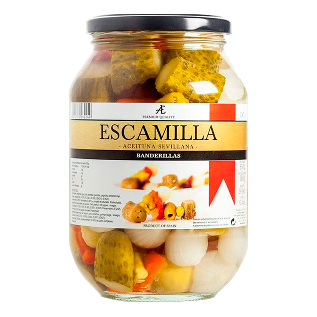 Banderillas Escamilla 570 g - embridge.mx