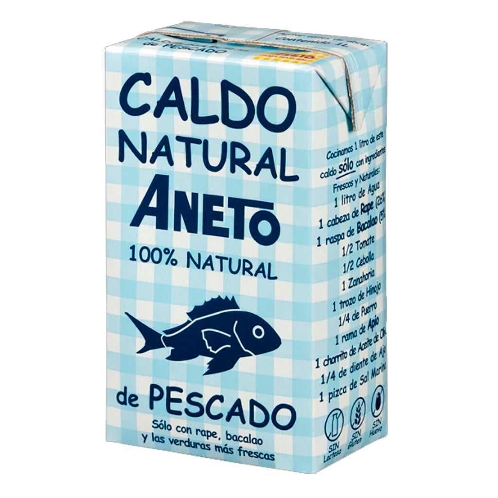 Caldo Natural Aneto de pescado 1000 ml - embridge.mx