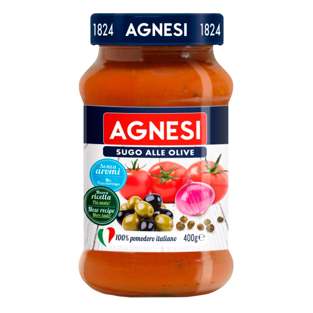 Salsa olive Agnesi 400 g - embridge.mx