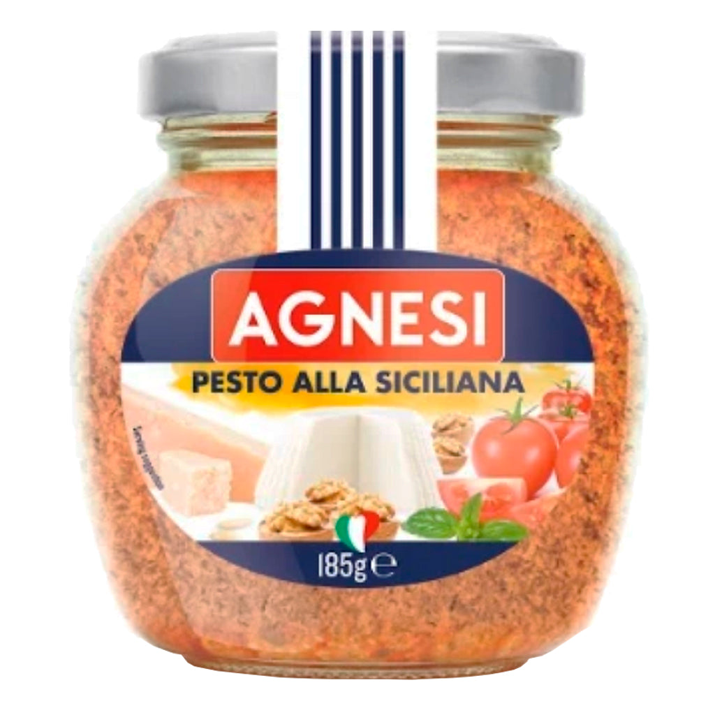 Salsa pesto Agnesi siciliana 185 g - embridge.mx
