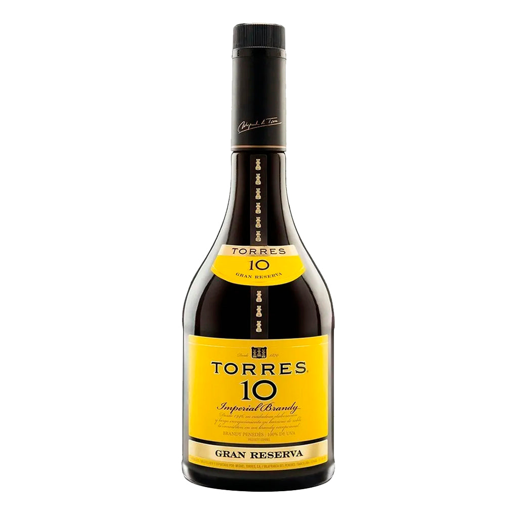 Brandy - Botella de 700 ml - Brandy Torres 10 - embridge.mx