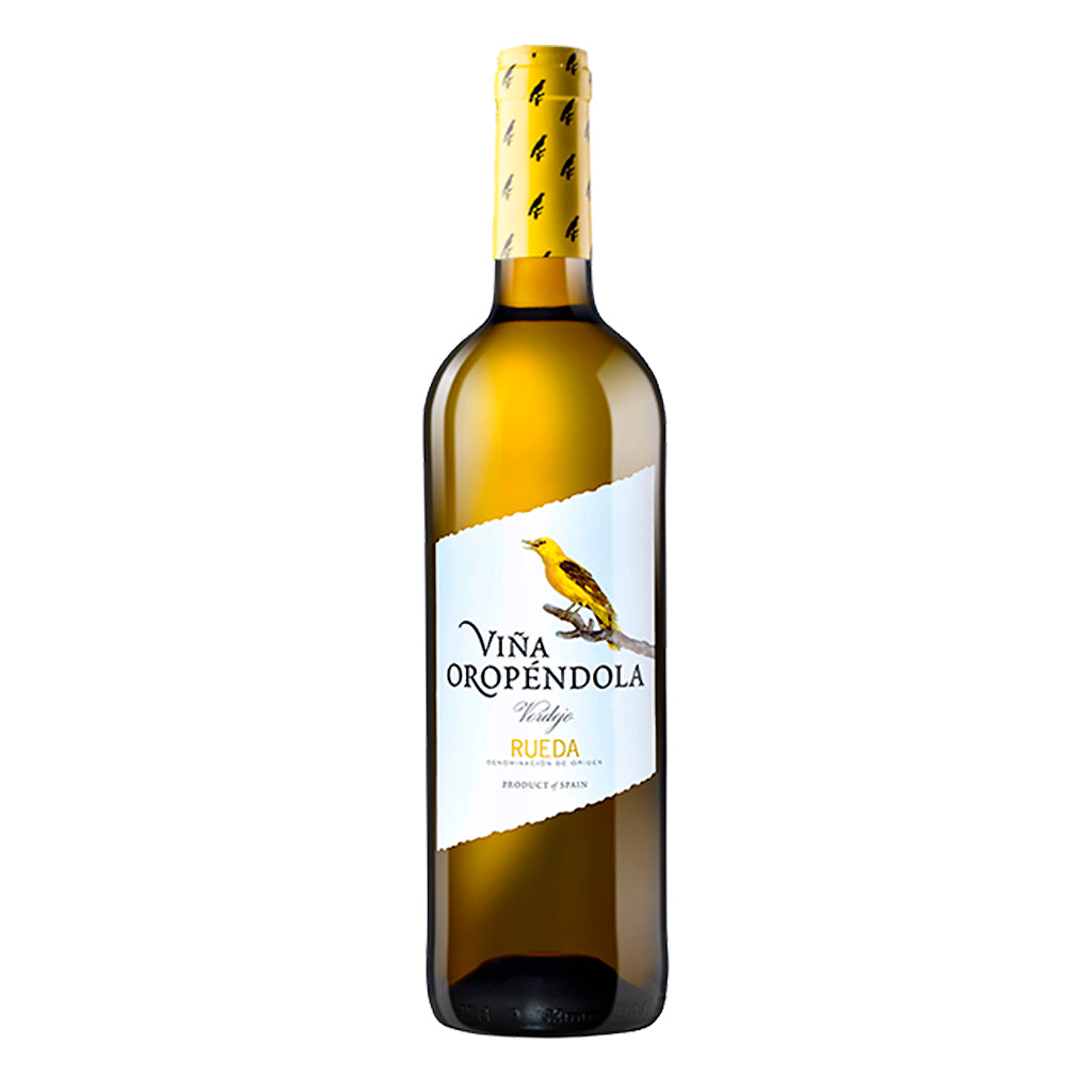 Vino blanco Viña Oropendola - Vino blanco verdejo - Botella 750 ml - embridge.mx