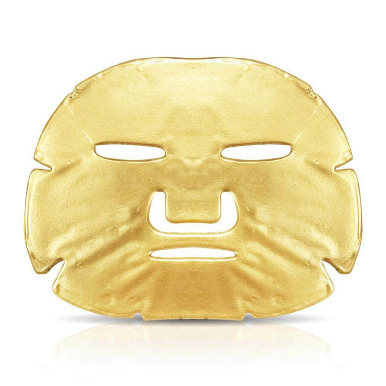 24 Carat Gold Luxury Collagen Facemask (3 x Masks)