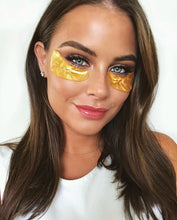 Load image into Gallery viewer, Pack Your Bags! Gold Collagen Gel Eye Masks (3 pairs per pack)