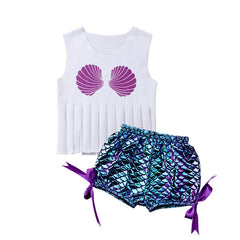 Fringe Mermaid Set