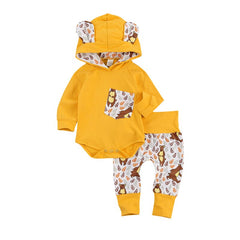 Forest Friends Hooded Set