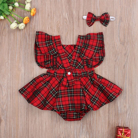 Princess Plaid Set