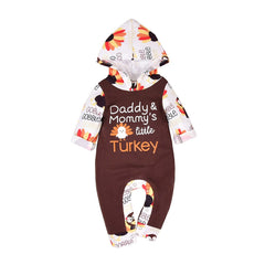 Daddy And Mommy's Turkey Romper