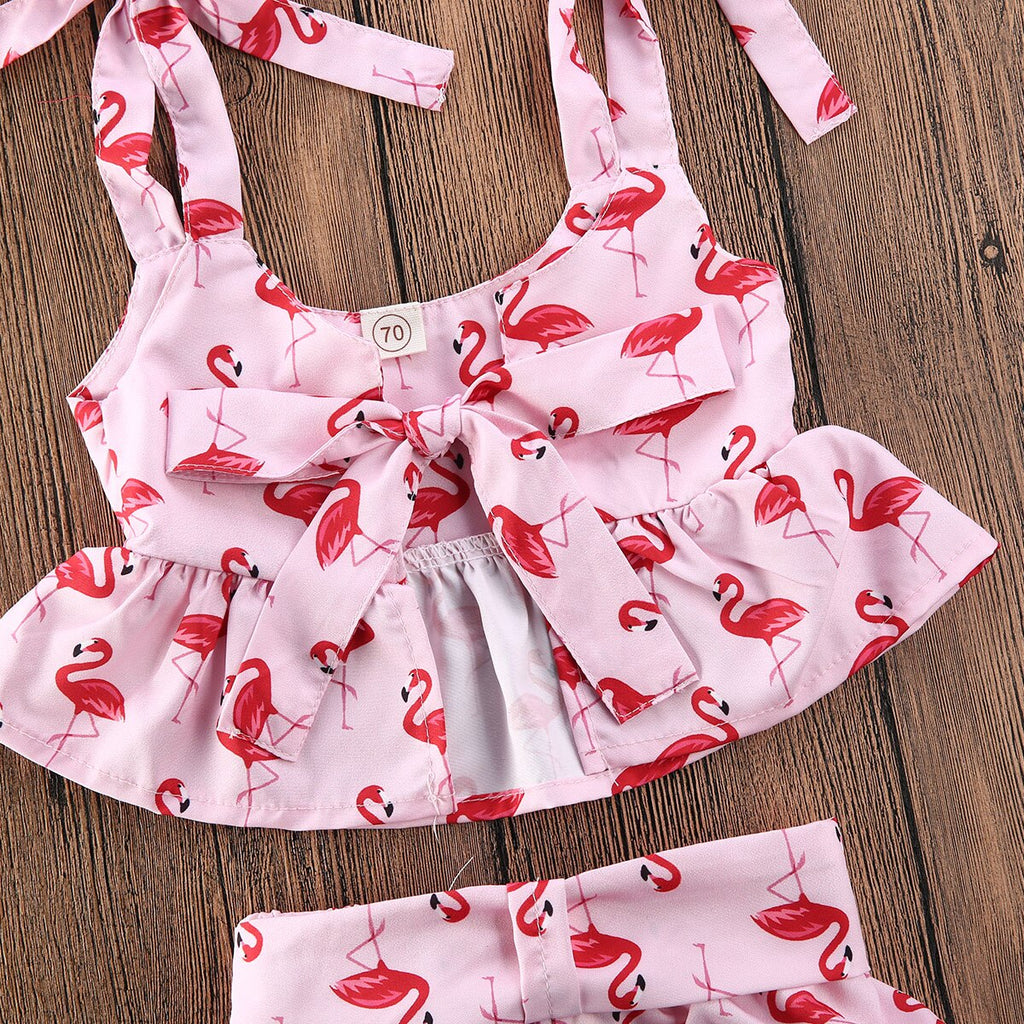 Liz Flamingo Set