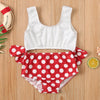 Image of Sisi Polka Dot Swimsuit