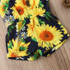 Image of Trendy Sunflower Romper