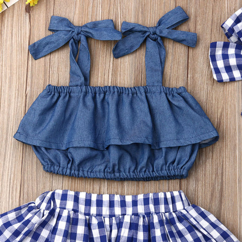 Layla Denim Set