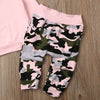 Image of Pink Camo Hooded Set