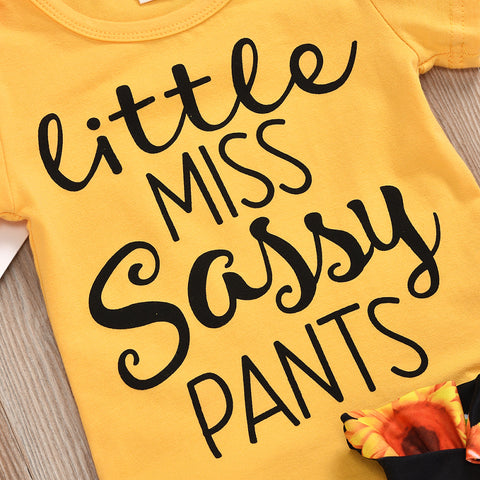 Sassy Pants Summer Set