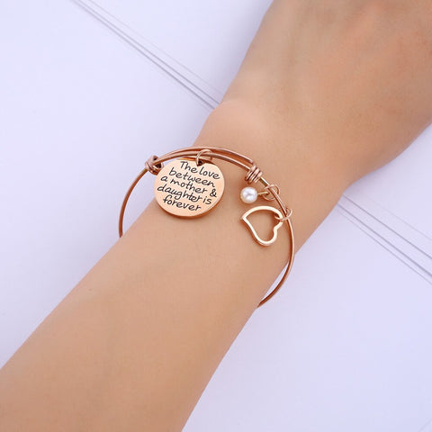 Mother & Daughter Love Bracelet