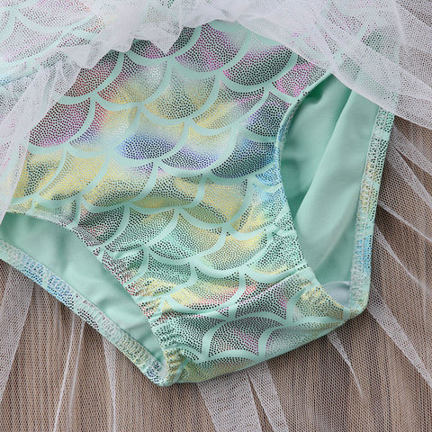 Baby Mermaid Tutu Swimsuit