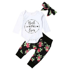 Best Mom Floral Set