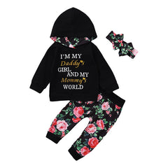 Parent's World Hooded Set
