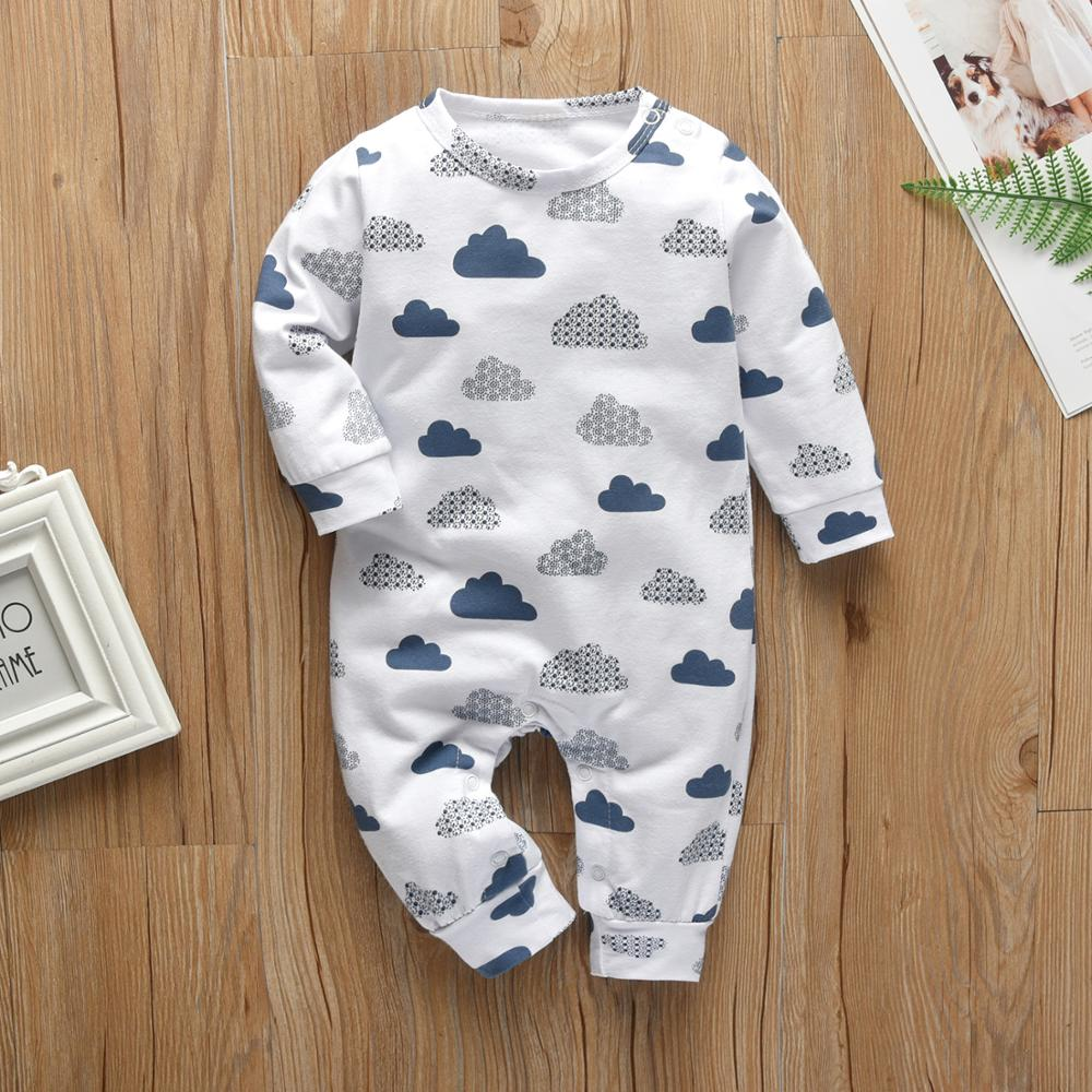 Creative Clouds Romper