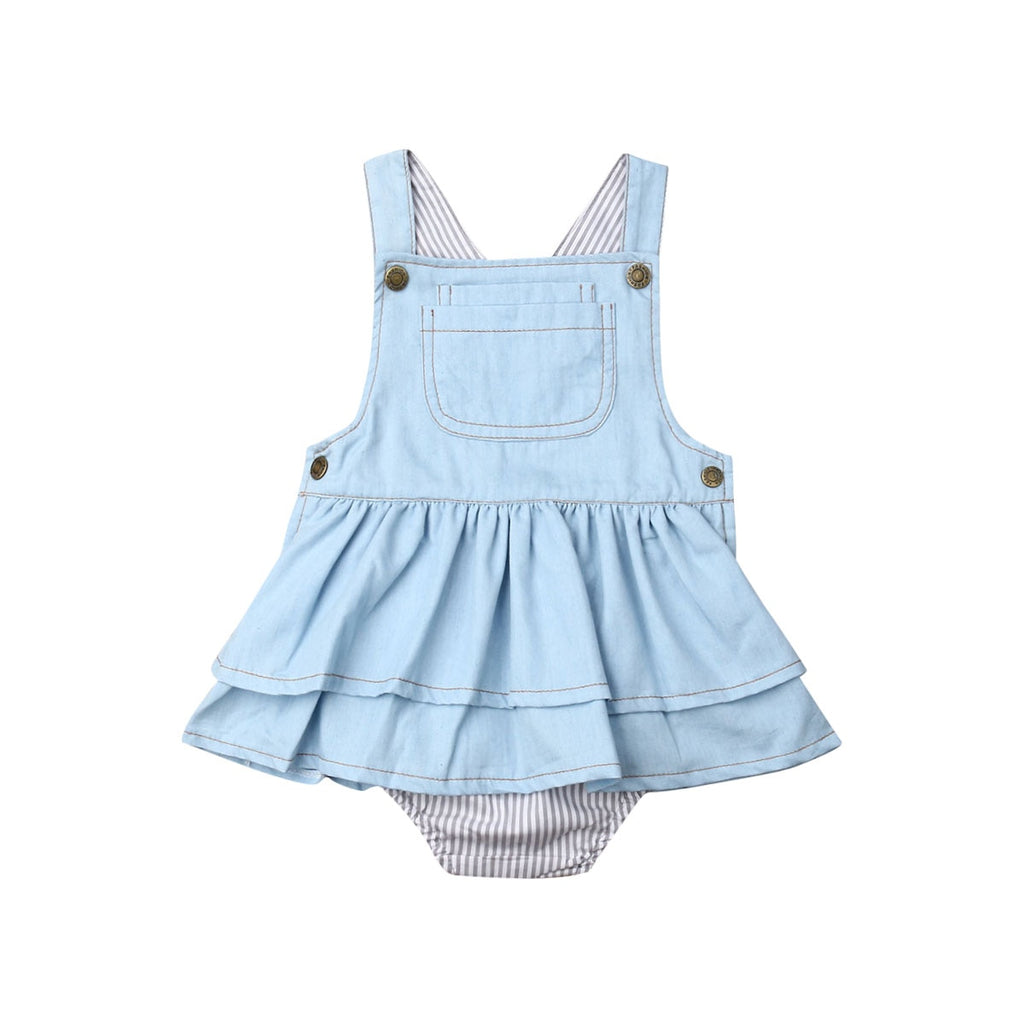 Arely Denim Romper
