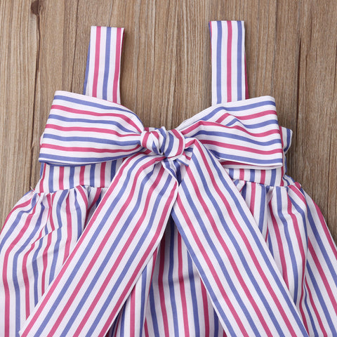 Anastazya Striped Playsuit