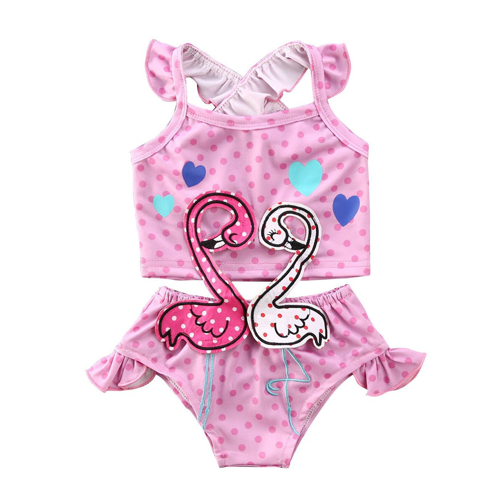 Flamingo Love Swimsuit