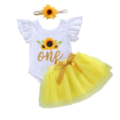 One Sunflower Set