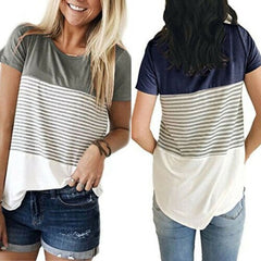 Striped Nursing Top