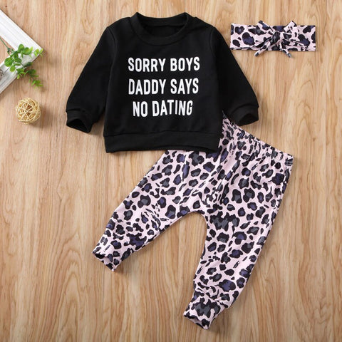 No Dating Black Set
