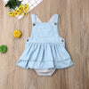 Image of Arely Denim Romper