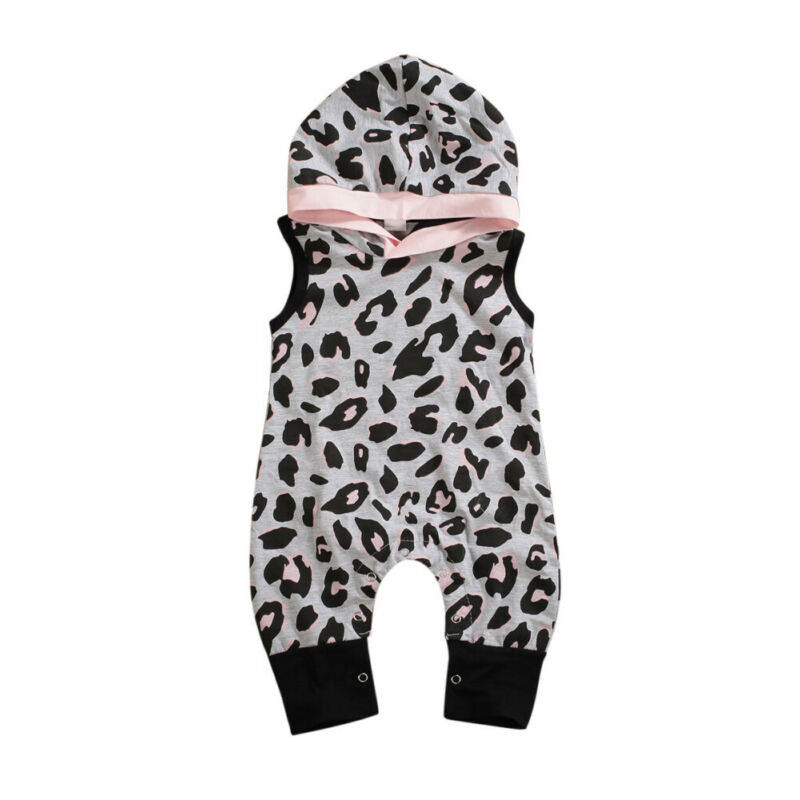 Zoe Hooded Romper