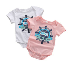 Daddy's First Mate Onesie